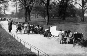 Spring_Scene_in_Hyde_Park_Nannies_with_Children_1